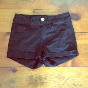 American Eagle Outfitters Shorts - Black Short-Shorts